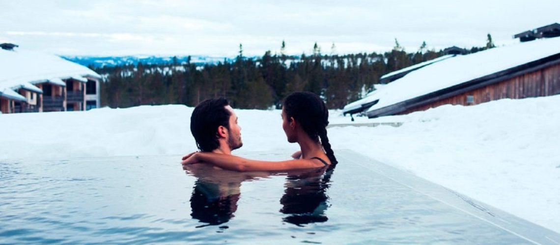 sauna en ski